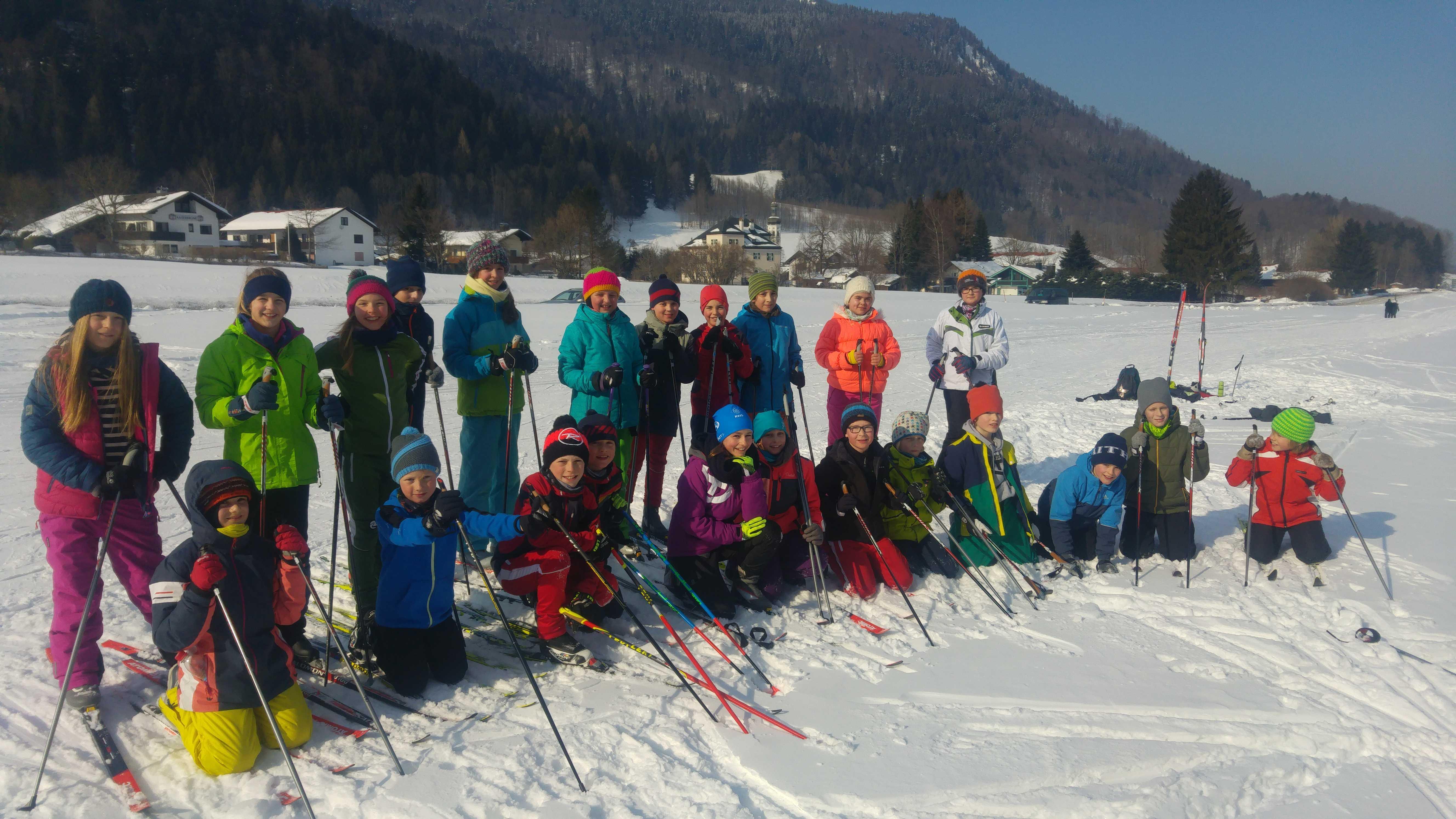 Skilanglaufen in Sachrang